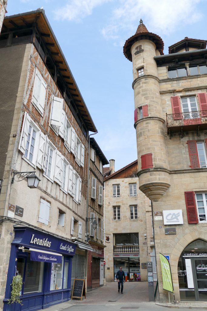 Figeacs malerische Altstadt