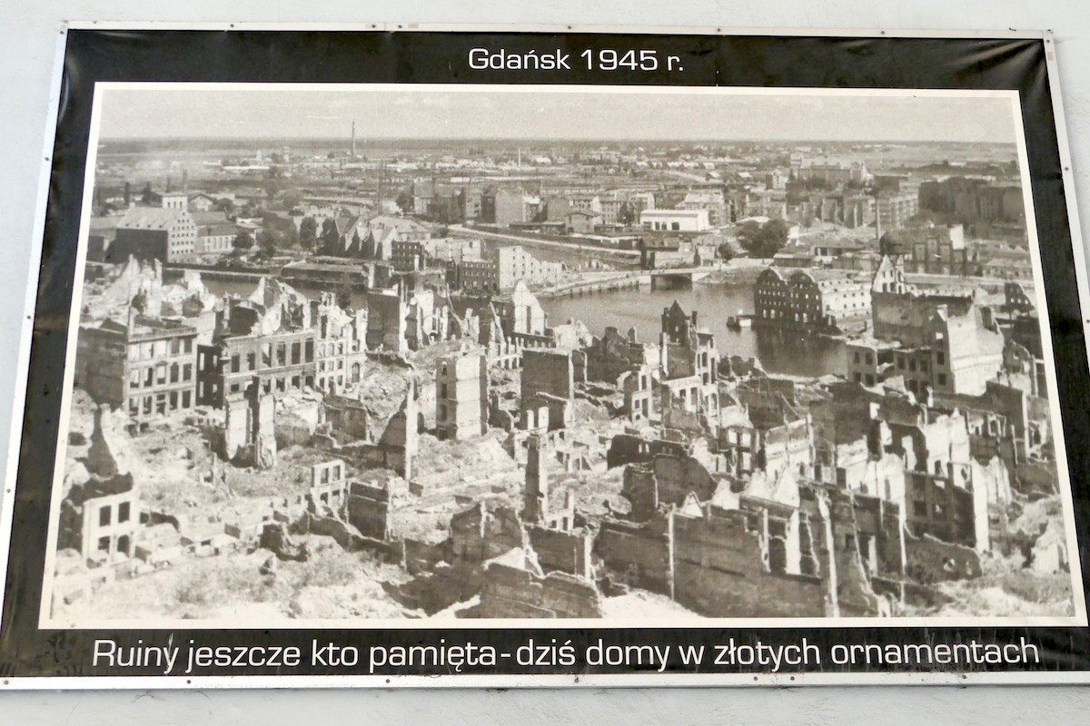 Gdansk, kurz nach Ende des II. Weltkriegs
