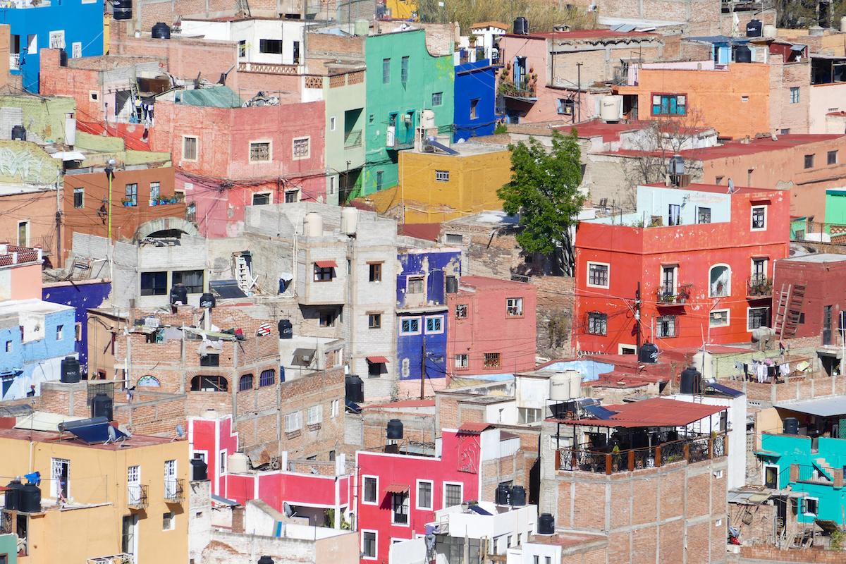 Guanajuato, El Pipila, der Blick auf die Stadt ist unglaublich