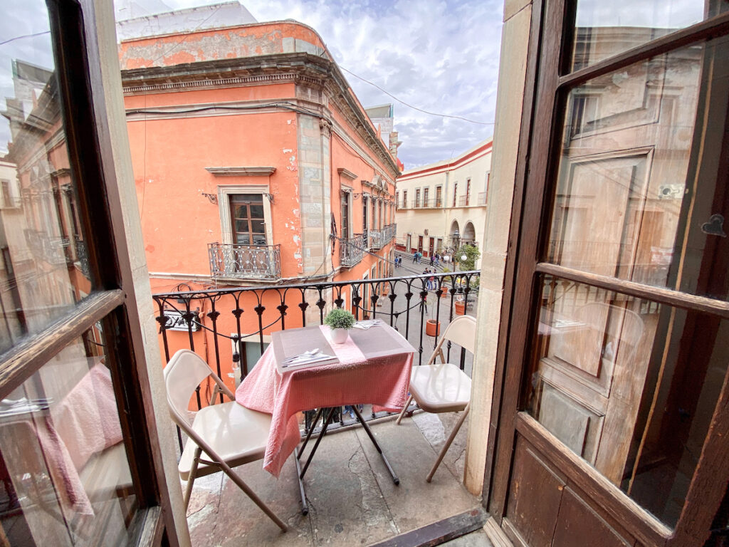 Guanajuato, La Vie en Rose, unser Lieblingscafe