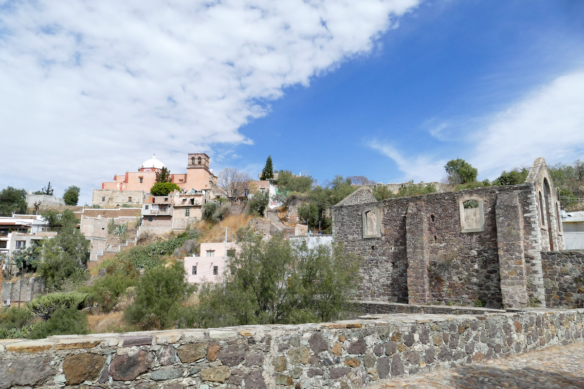 Guanajuato, Mellado, Templo Mellado vom Mirador Las Rayas