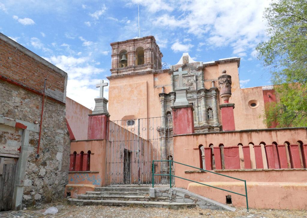 Guanajuato, Mellado, Templo de Mellado