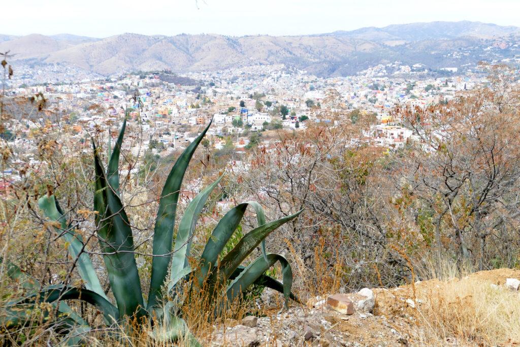 Guanajuato, Presa de Olla, Blick auf Guanajuato