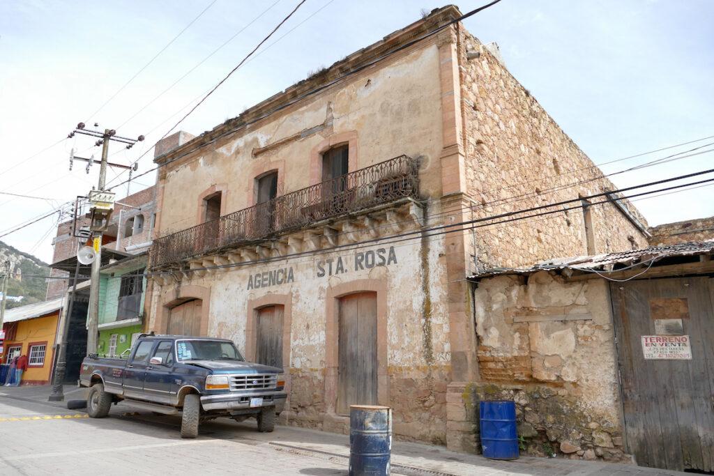 Guanajuato, Santa Rosa de Lima, der Ausgangspunkt unserer Wanderung