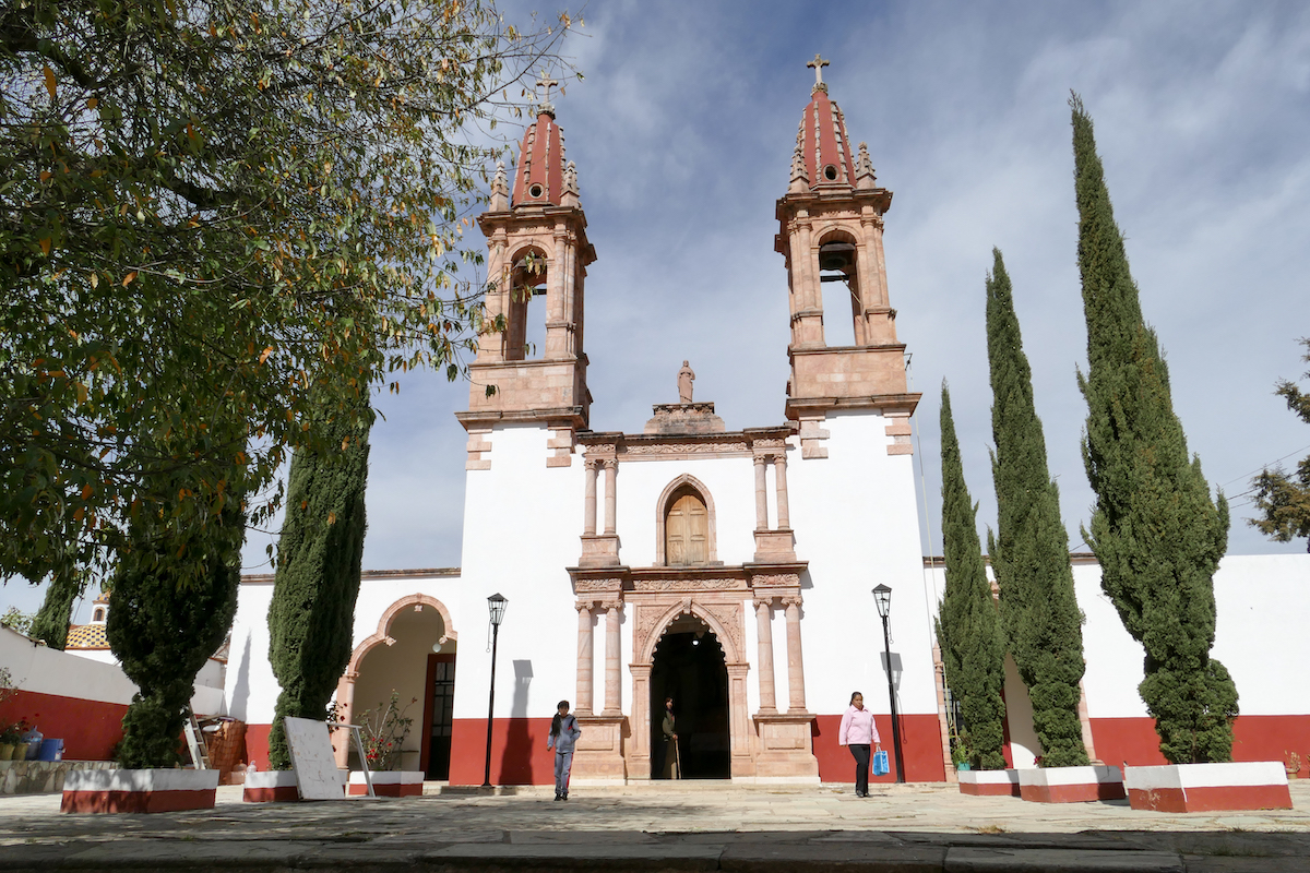 Guanajuato, Santa Rosa de Lima, die Kirche im Zentrum