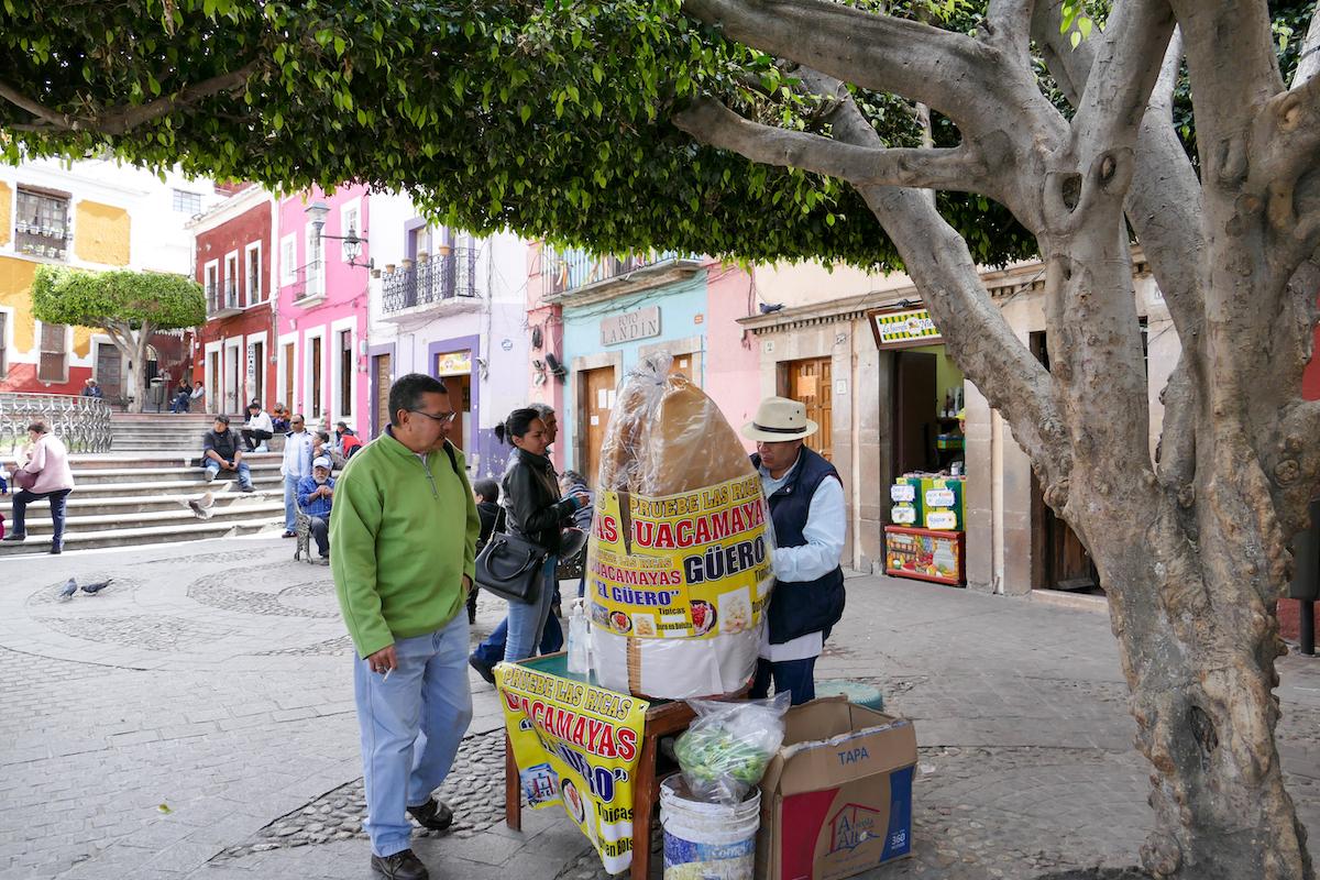 Guanajuato, Zentrum, Plaza de Los Angeles