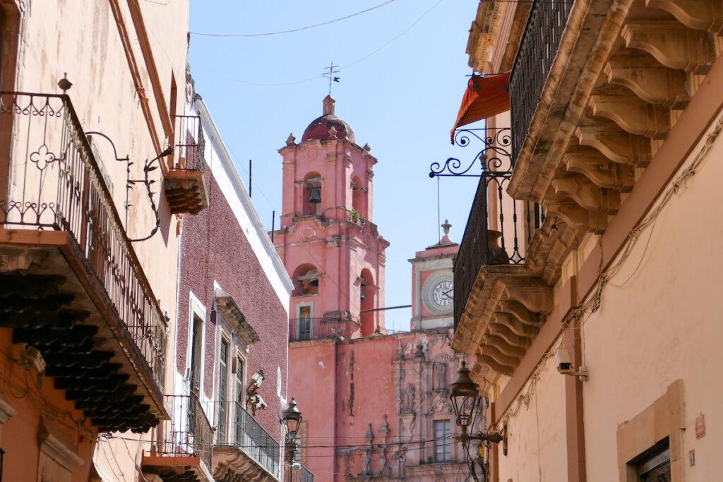 Guanajuato, Zentrum, Templo San Francisco