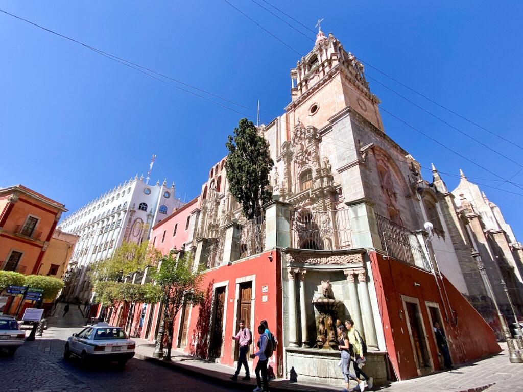 Guanajuato, Zentrum, Templo de Compania de Jesus Guanajuato