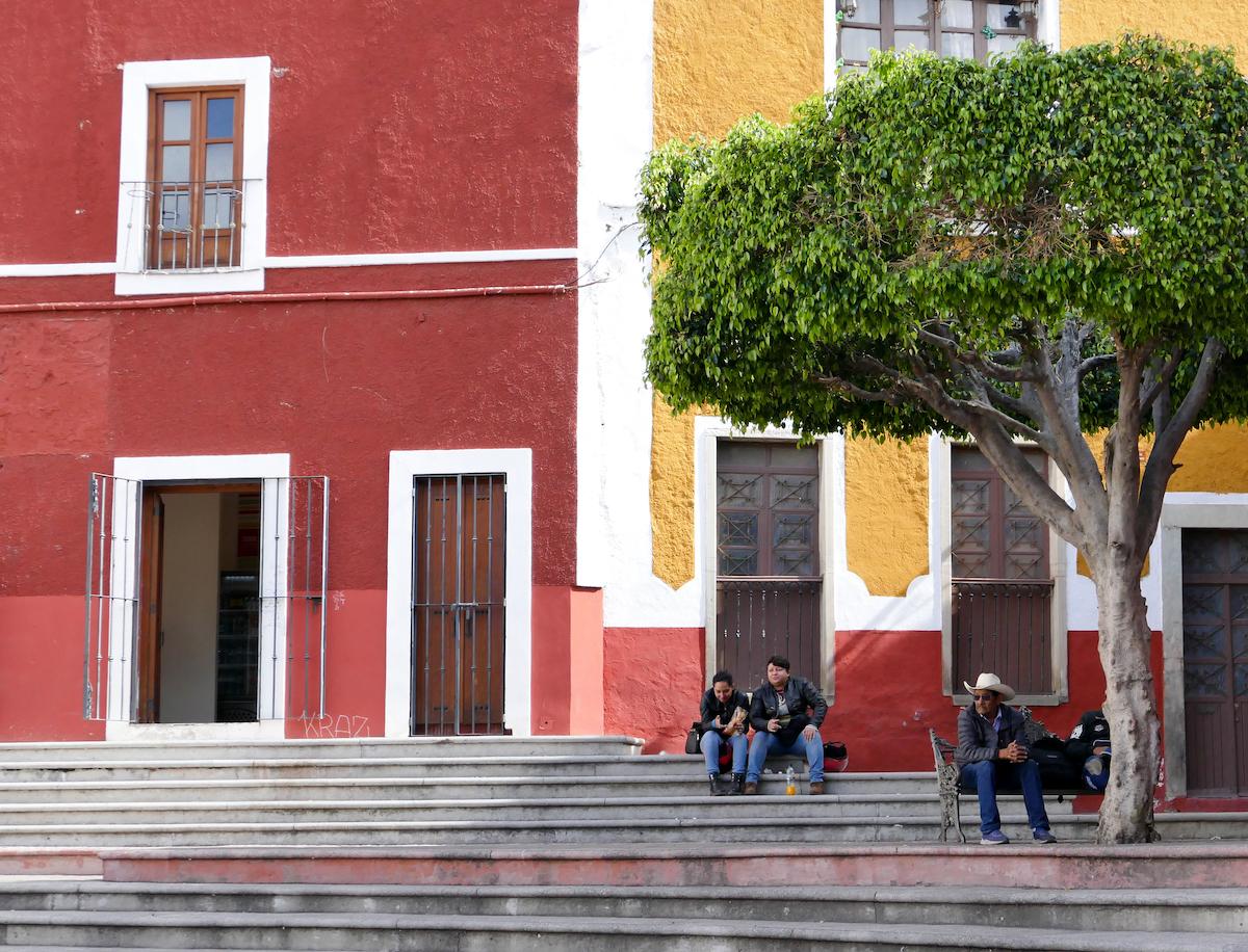 Guanajuato, Zentrum, am Plaza de Los Angeles