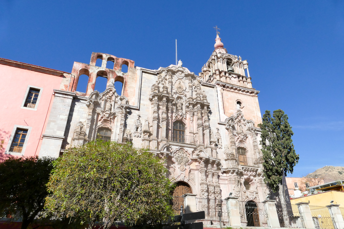 Guanajuato, Zentrum, der Templo de Compania de Jesus Guanajuato