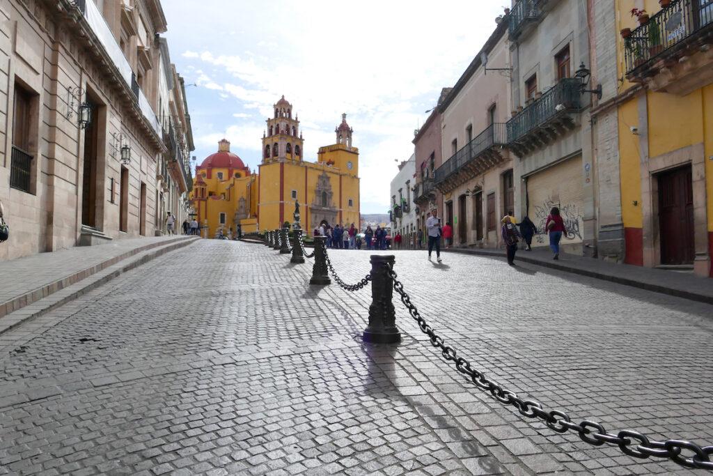 Guanajuato, Zentrum, die Kathedrale