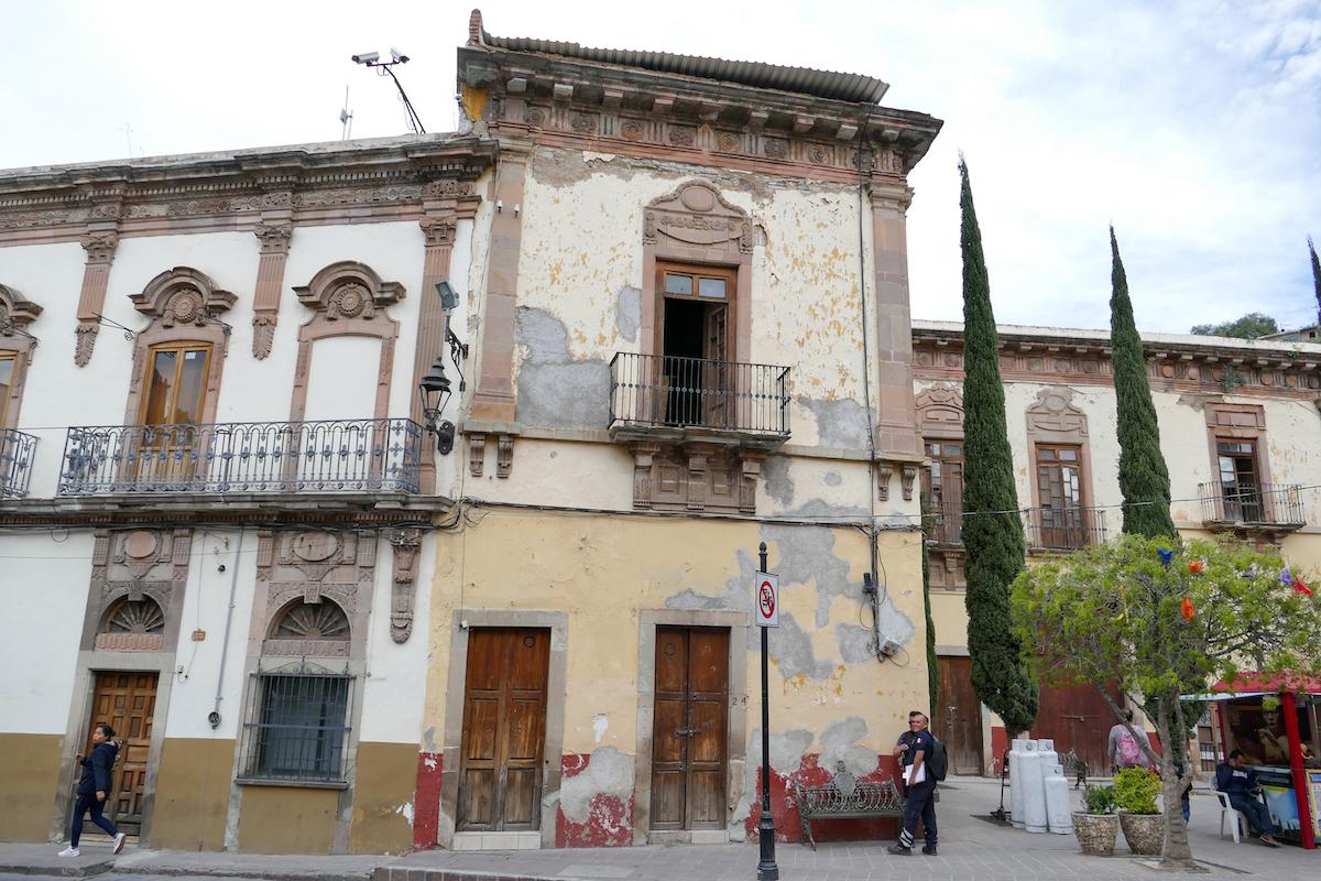 Guanajuato, Zentrum, eines der vielen historischen Gebaeude
