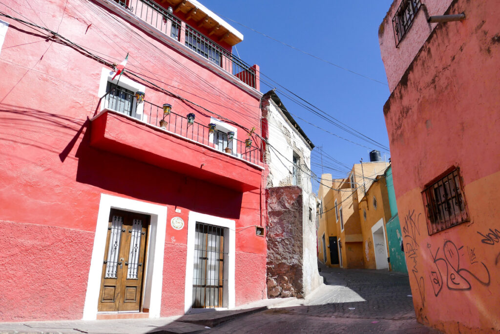 Guanajuato, bunte schmale Gassen
