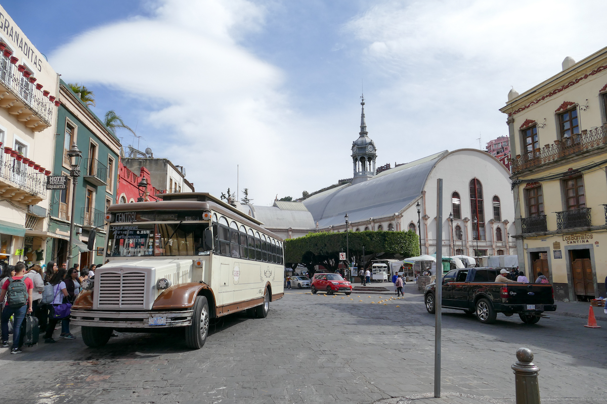 Guanajuato, der Mercado Hidalgo