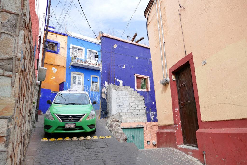 Guanajuato, eine Herausforderung fuer Autofahrer