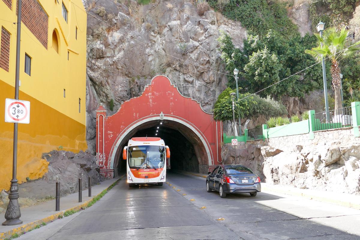Guanajuato, einer der vielen Tunnel