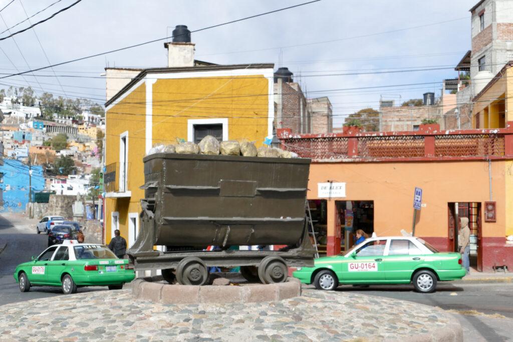 Guanajuato, hier gab es frueher grosse Silbervorkommen