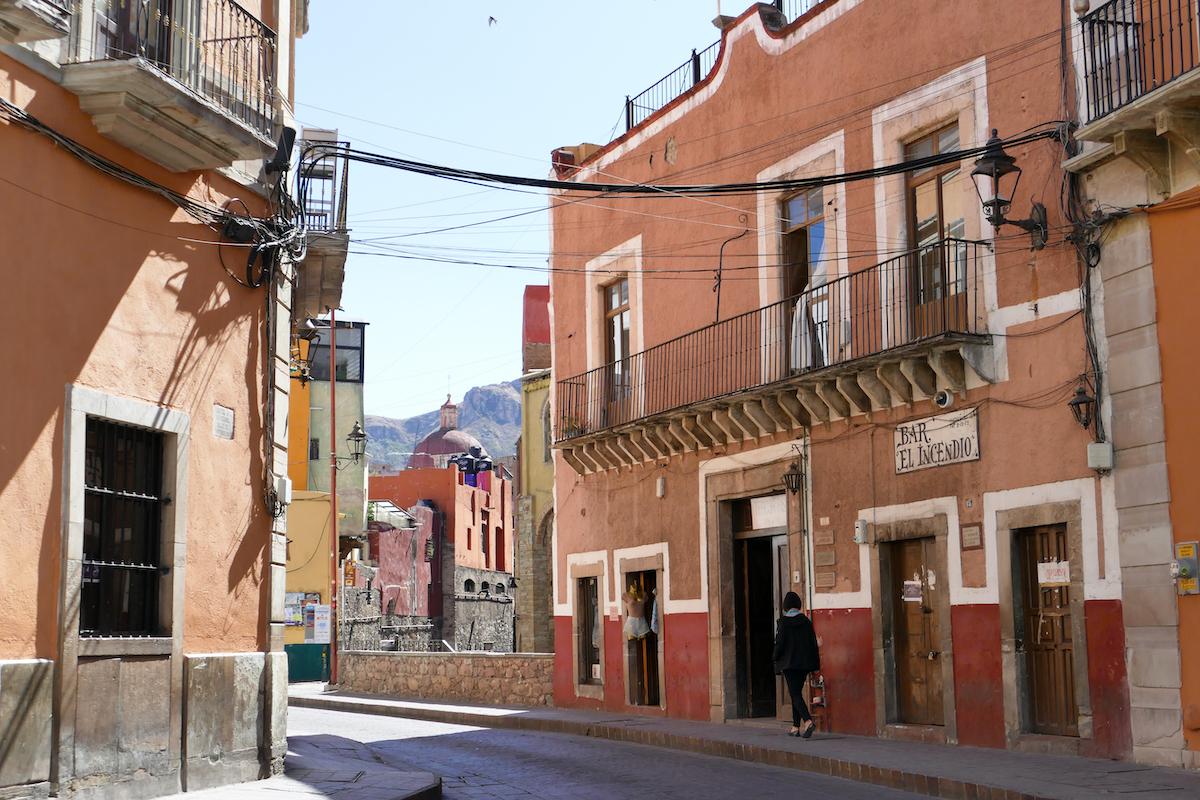 Guanajuato, in den schmalen Gassen der Altstadt