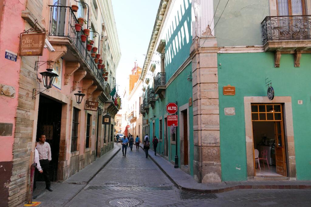 Guanajuato, wuenschenswert, eine autofreie Innenstadt