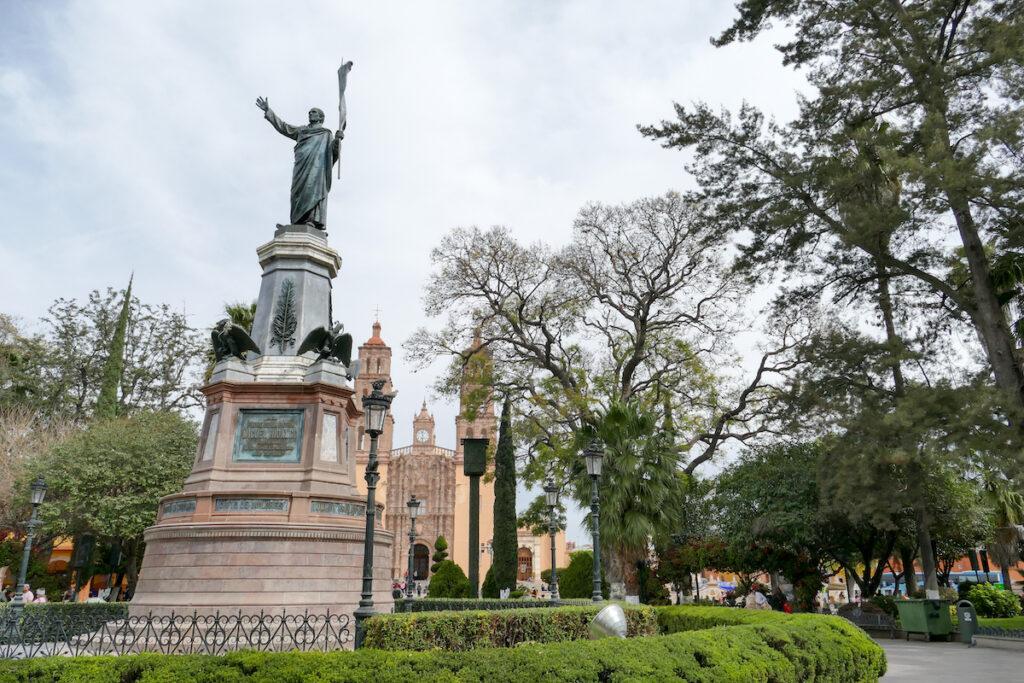 Hidalgo Denkmal