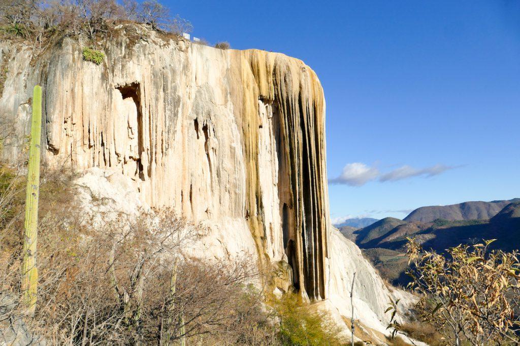 Hierve el Agua, Frozen Waterfall