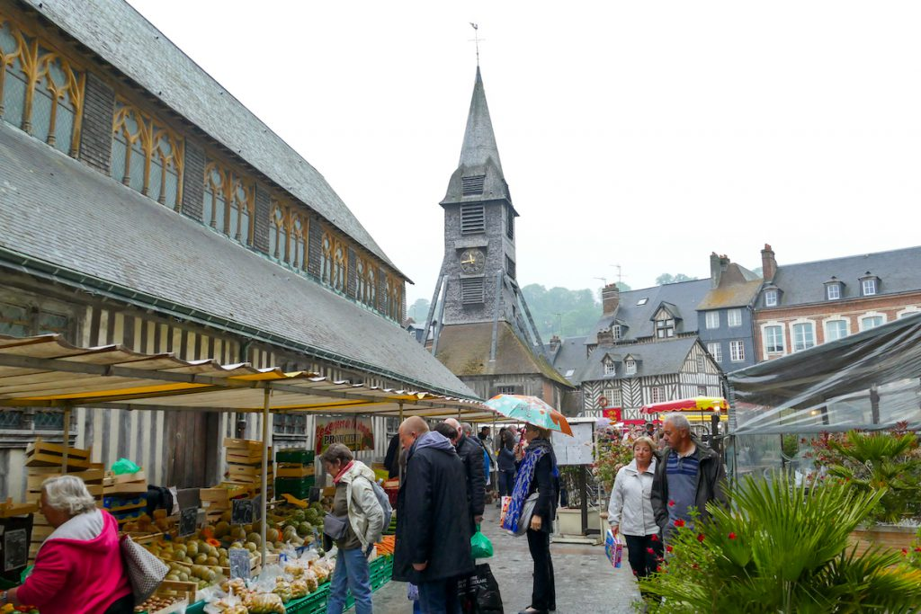 Honfleur, Samstagsmarkt