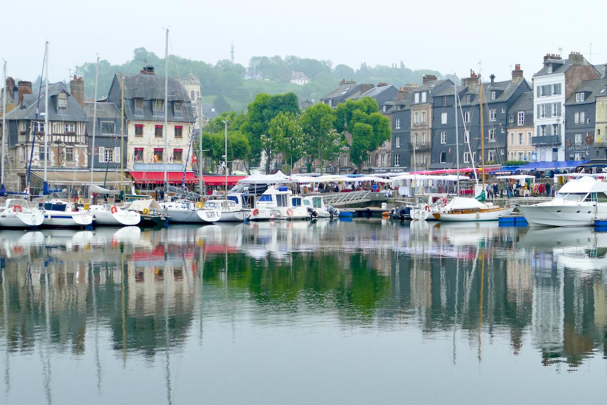Honfleur, der alte Hafen