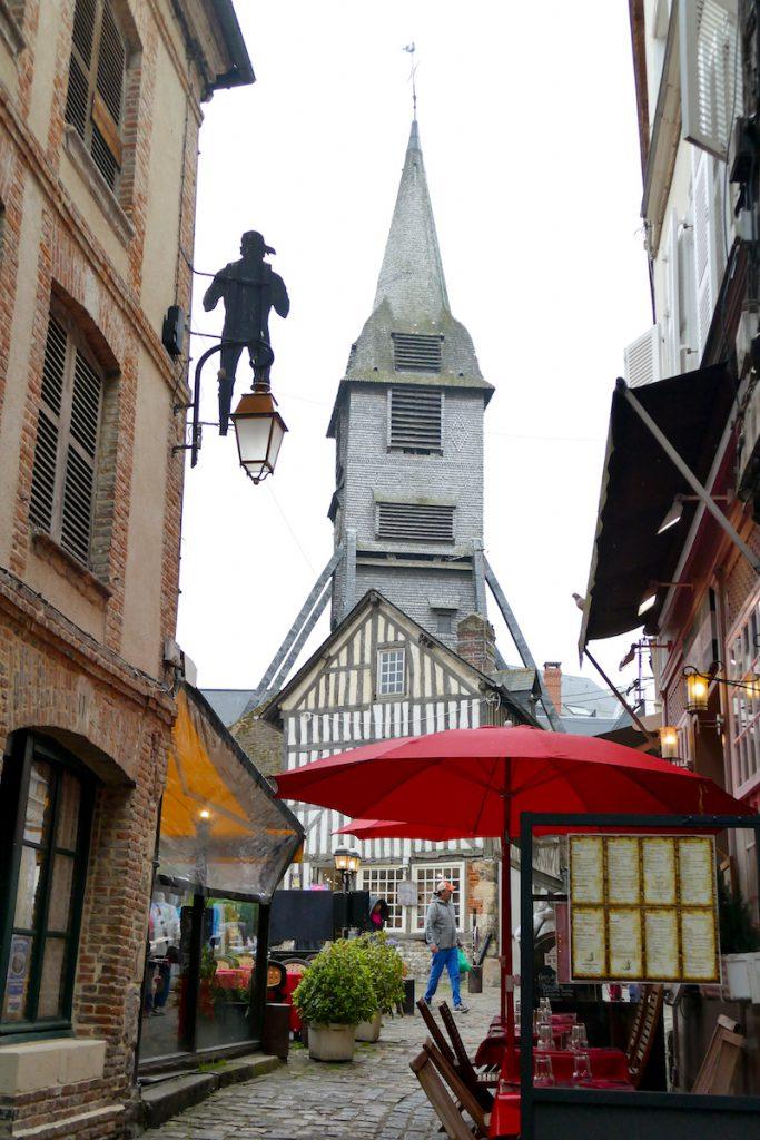 Honfleur, in den Gassen der Altstadt