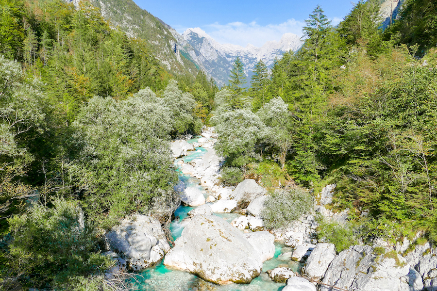 Im Soca Valley, Slowenien