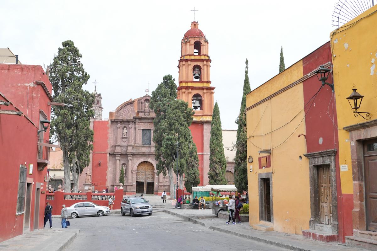 In San Miguel de Allende