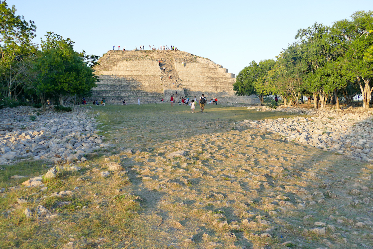 Izamal, Kinich Kakmo Pyramide
