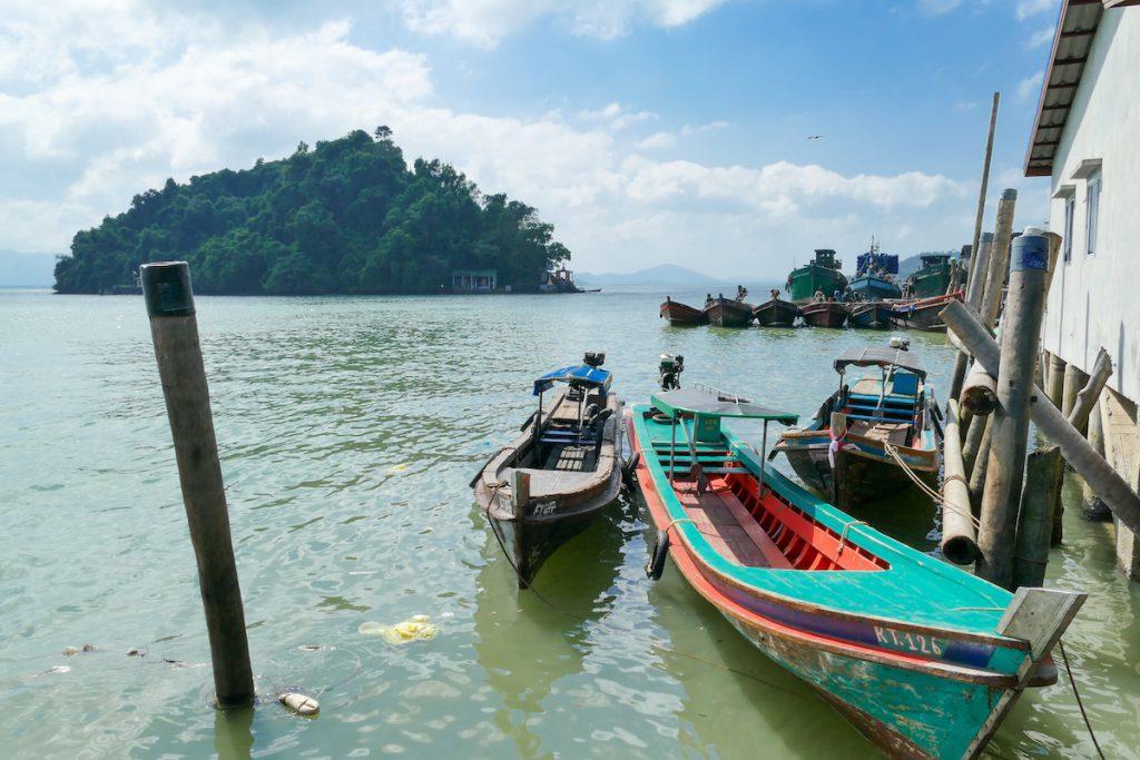 Kawathaung, alter Fischerhafen