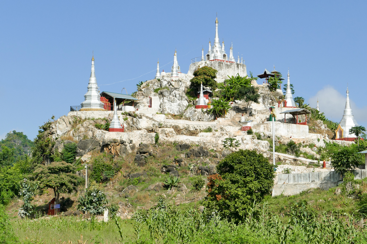Kayah State, White Pagoda