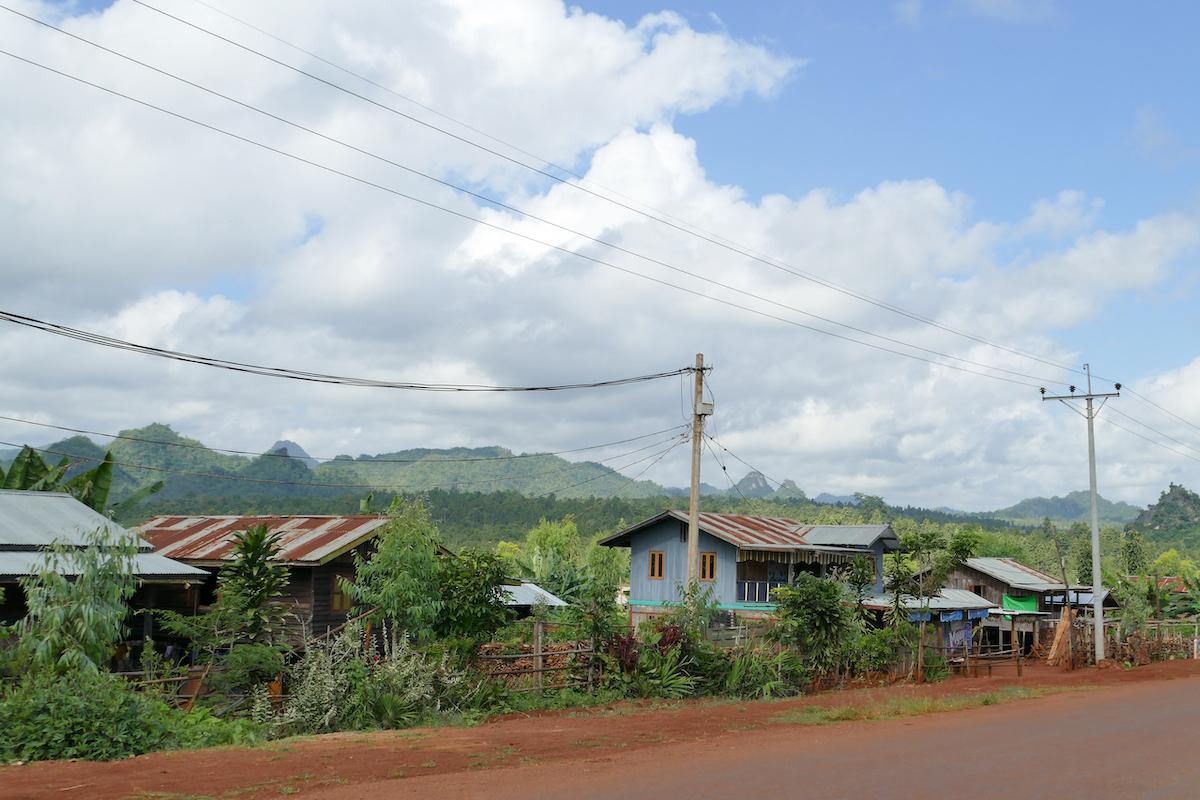 Kayah State, am Rande der Shan Mountains