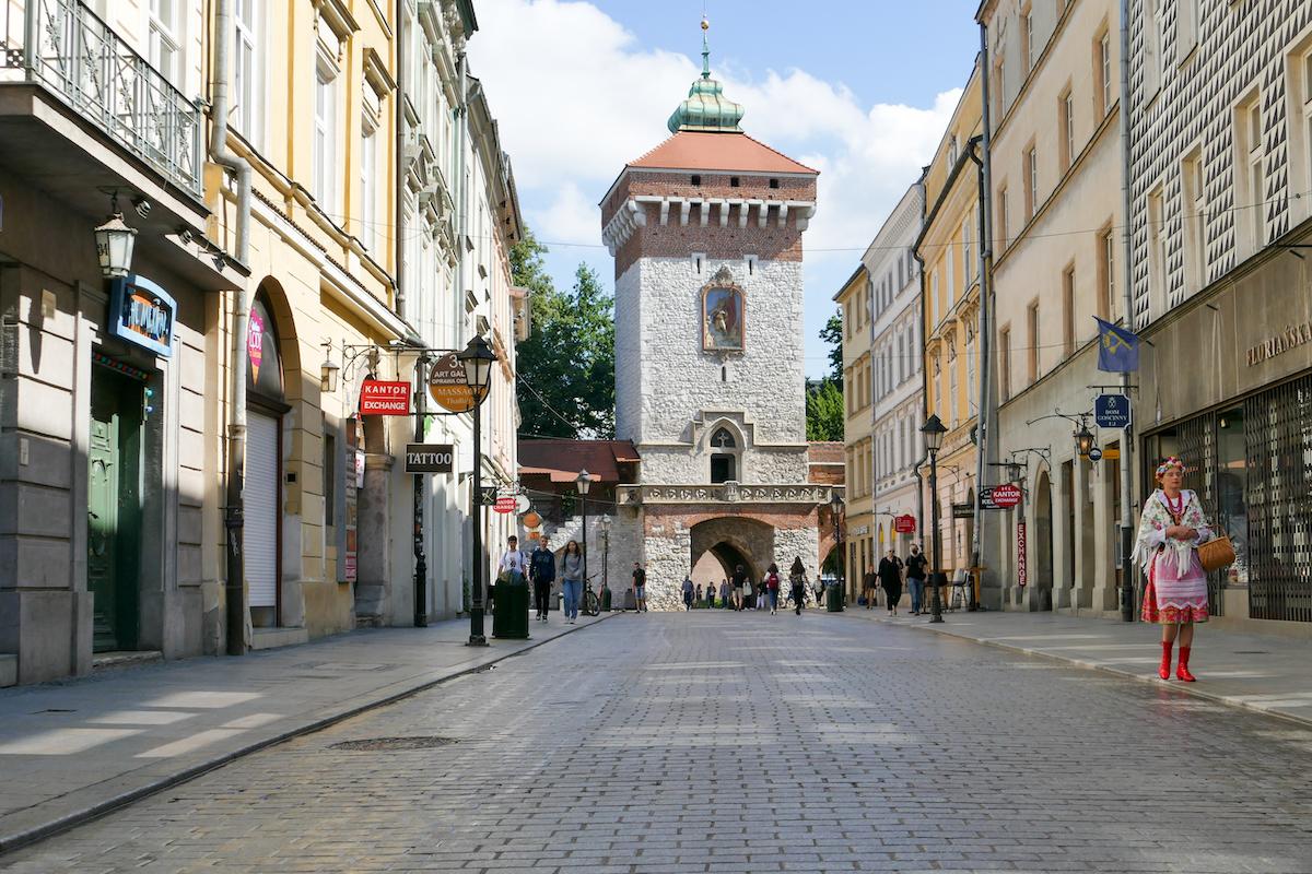 Krakau, Altstadt, Florianstor