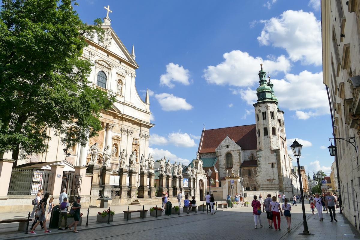 Krakau, Altstadt, Peter und Paul Kirche
