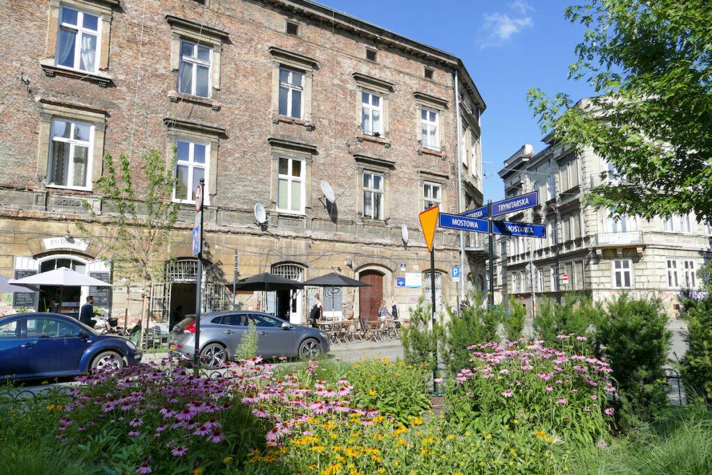 Krakau, Kazimierz, im juedischen Viertel