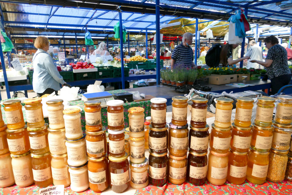 Krakau, Kleparz-Markt