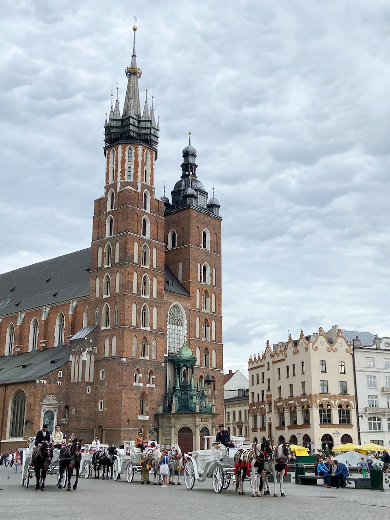 Krakau, Rynek, Marienkirche