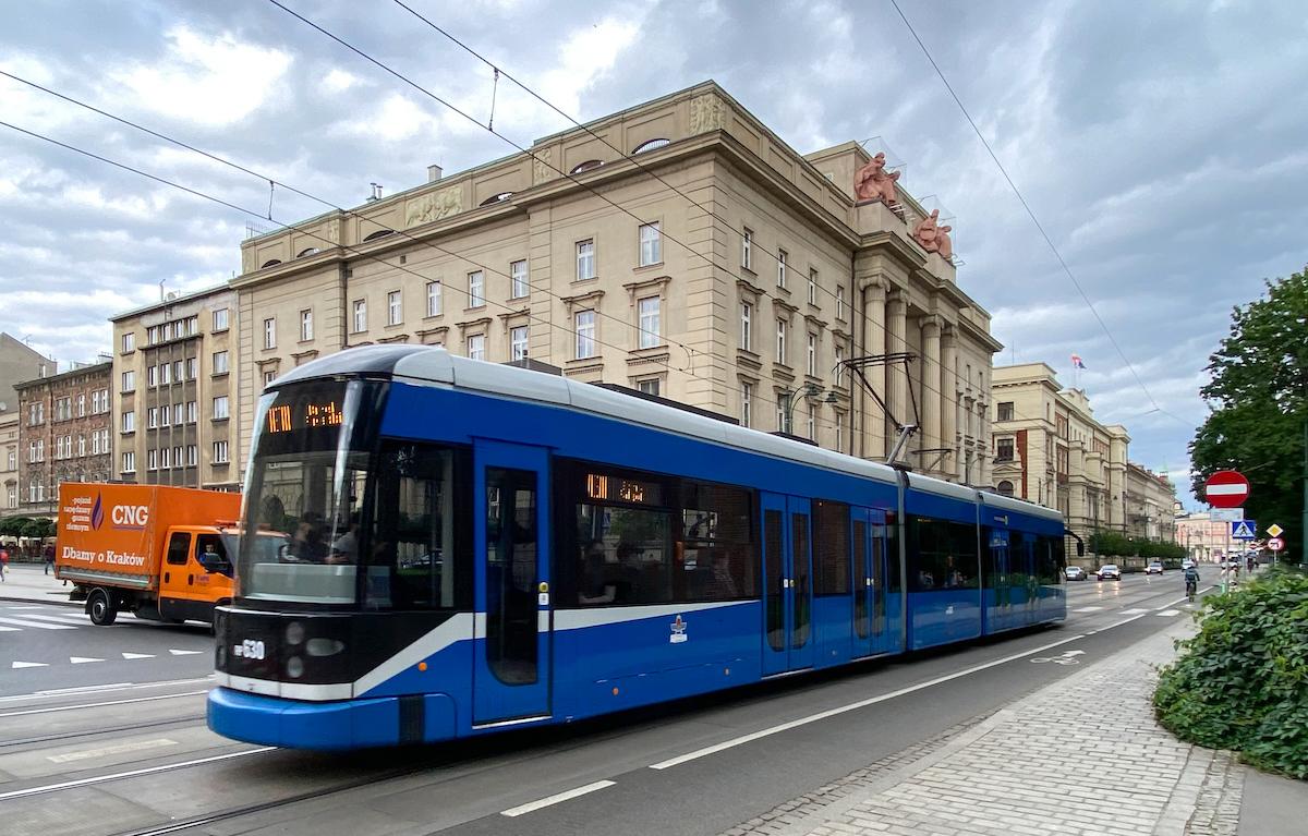 Krakau, Strassenbahn