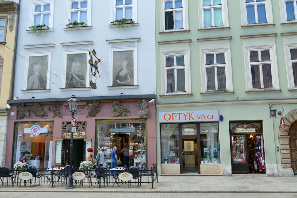 Krakau, in der Altstadt