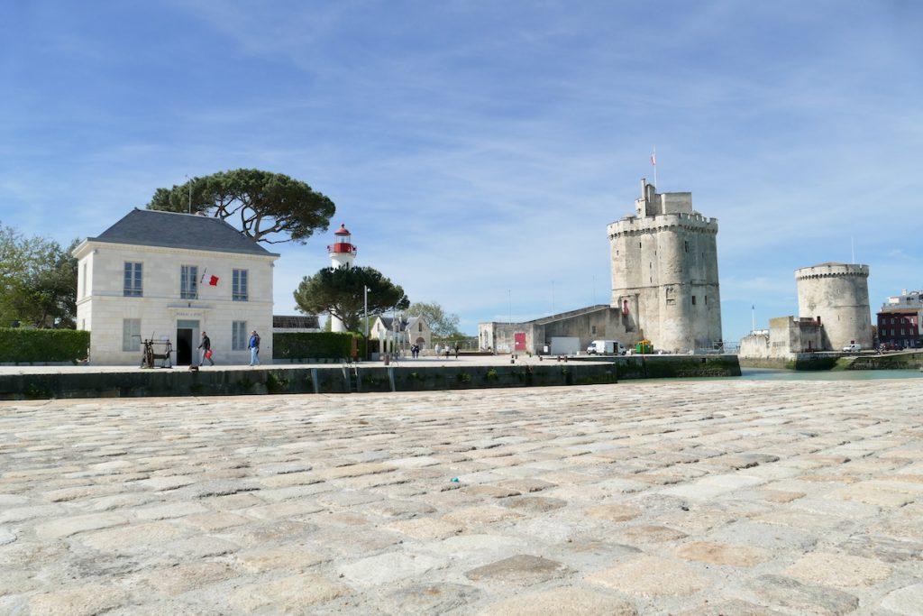 La Rochelle, am alten Hafen