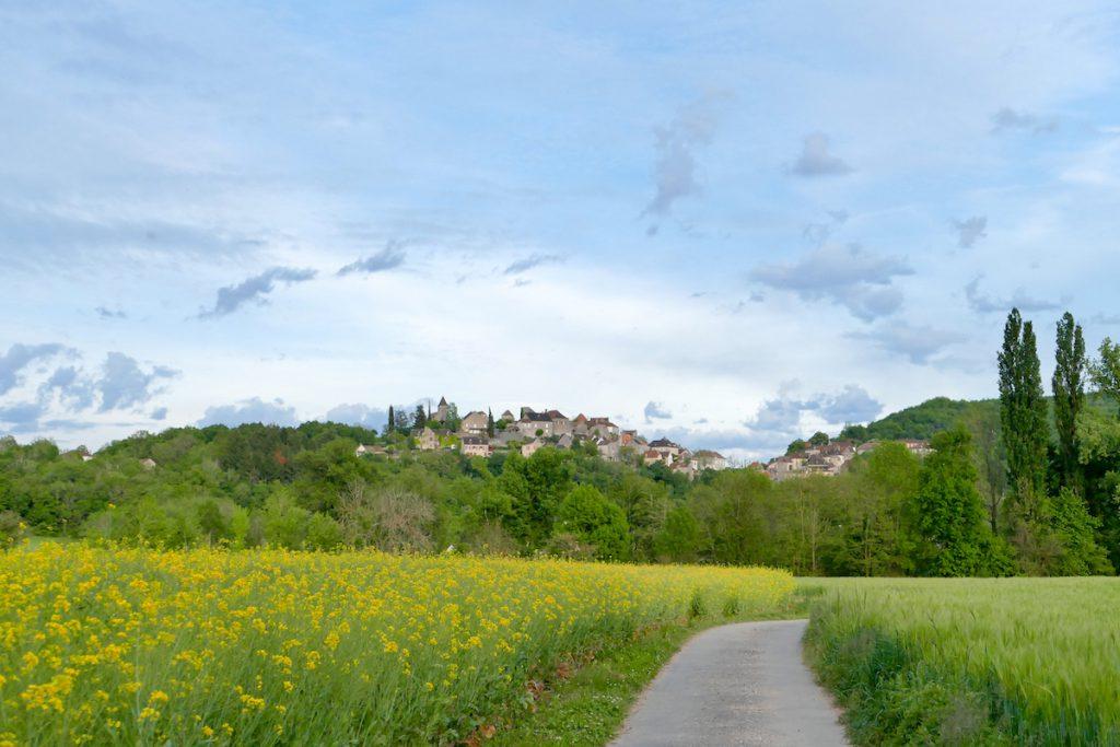 Blick auf Calvignac