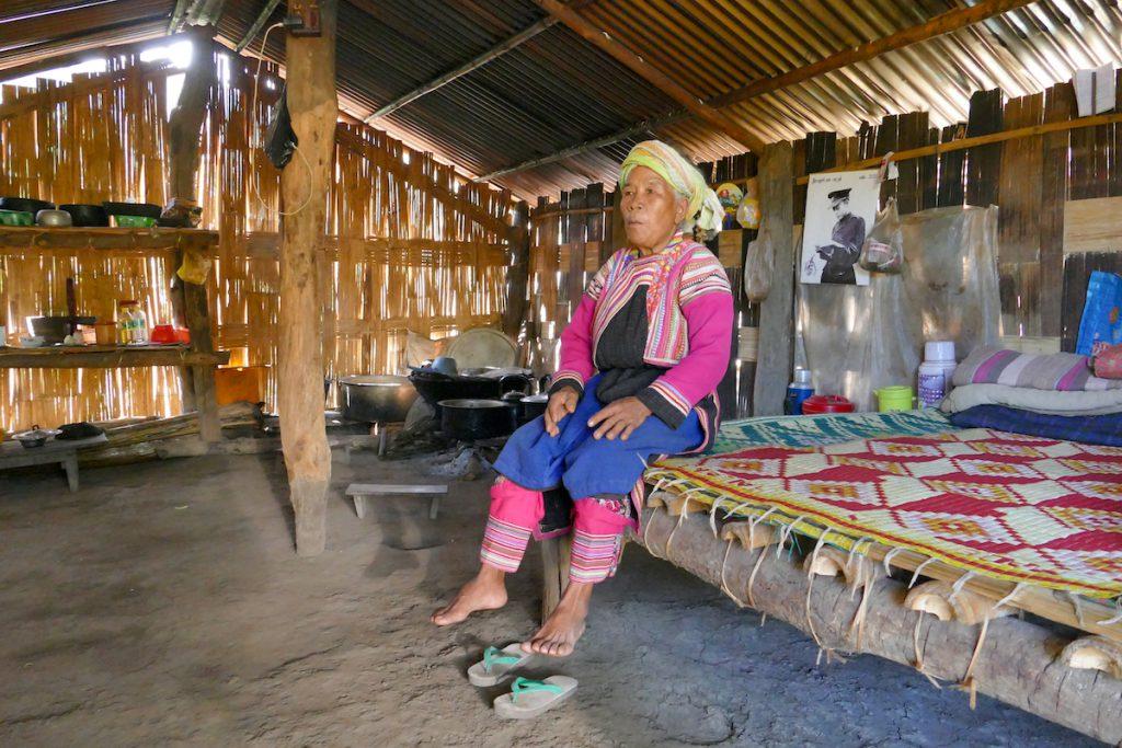 Lisu, im Haus von Nampa
