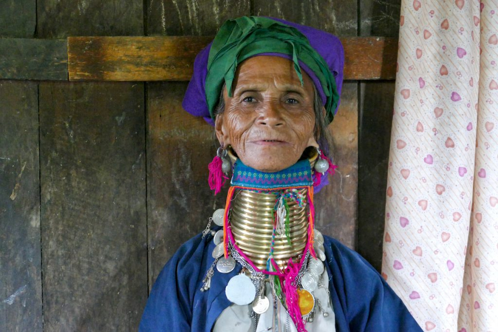 Loikaw, Kayan Tribe, Tante unseres Guides