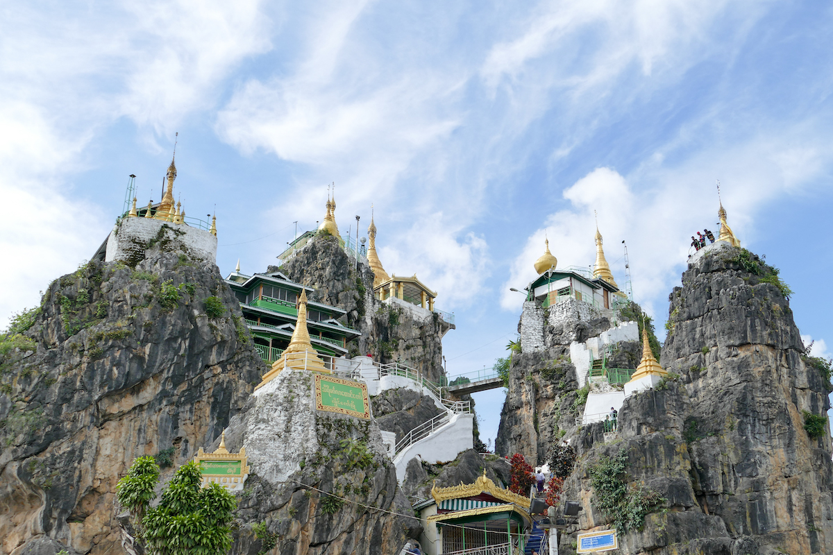 Loikaw, Taung Kwe Pagoda