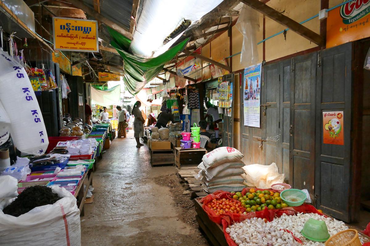 Loikaw, Thiri Mingalar Markt