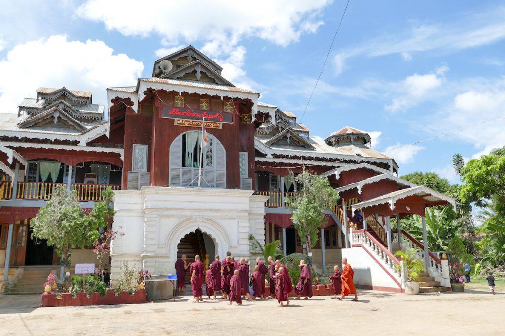 Loikaw, ehemaliger Palast der Shan Dynastie