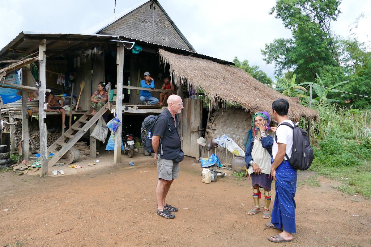 Loikaw, ein Guide ist in dieser Region sehr sinnvoll