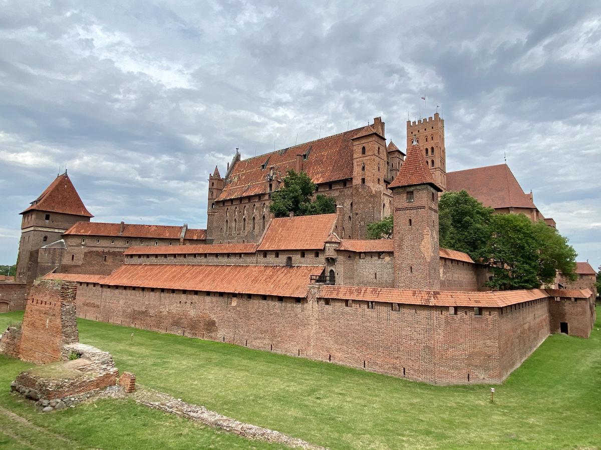 Malbork Castle, die imposante Ordensburg des Deutschen Ordens